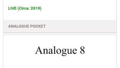 New Analogue Patents